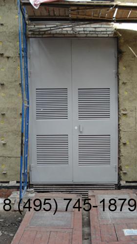 металлические двери для подстанции
